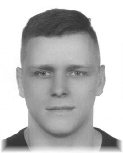 """Grzegorz ZIĘBLIŃSKI, ps. """"Rusek"""", 27 lat"""